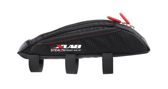 XLAB Stealth 400 XP fietstas met zijvakje zwart